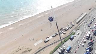Brighton Beach Tandem Bungee 2015 - Drone Footage