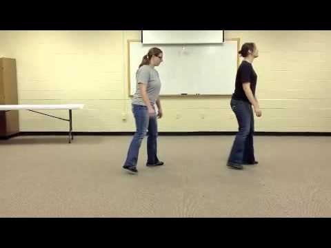 Electric Slide Line Dance Instruction
