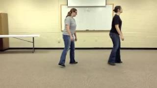 Electric Slide Line Dance Instruction