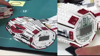 Review of LEPIN 05046 Rebel Blockade Runner UCS Tantive IV LepinBrickDotCom1