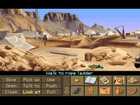 Indiana Jones and the Fate of Atlantis PC Longplay - Fists Path