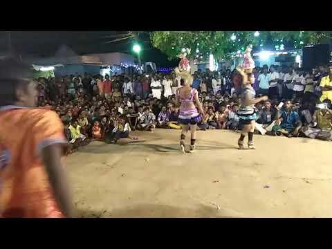 நித்யாவின் கலக்கல் கரகாட்டம்-Tamil New Karakattam Videos-Karakattam-Tamil Karakattam-Naiyandi Melam thumbnail
