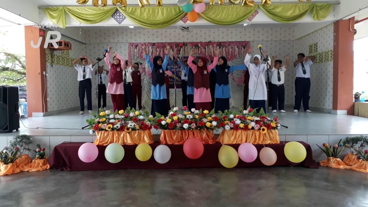 Awanijr Smart English Piala Yayasan Diraja Sultan Mizan 2018 Youtube
