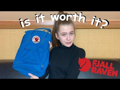 fjallraven kanken review + what fits