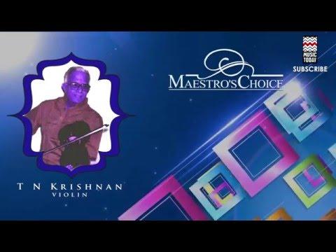 Parulanna Mata Kapi - T N  Krishnan(Album: Maestro's Choice)
