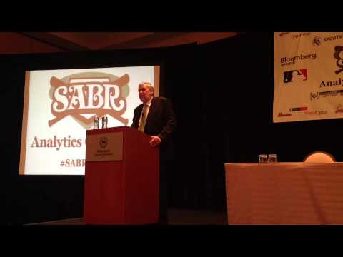 2013 SABR Analytics Conference: Keynote by Author Bill James