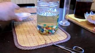 Орбиз в сахарной браге, хотел изобрести химический спорсоб перегонга браги