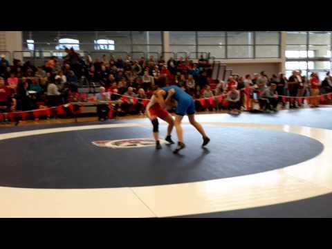 2015 Junior National Championships: 55 kg Ashley Osachuk vs. Laurence Camirand