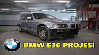 BMW E36 PROJESİ | ÇÜRÜKLERİ ONARDIK BOYASIZ GÖÇÜK DÜZELTME YAPTIK