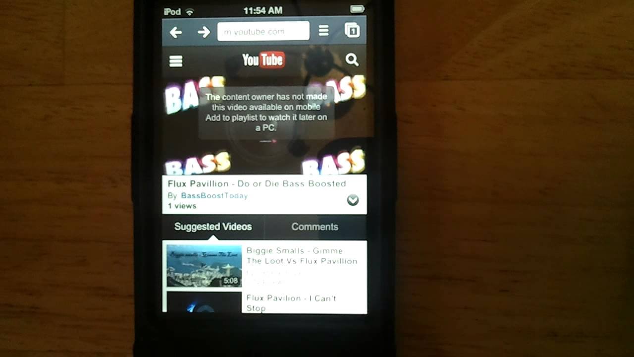Watch Videos Blocked On Mobile Devices On Your Mobile Device