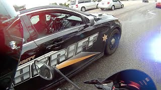 """Cops Vs Bikers - """"Was I Really Going That Fast Officer?"""""""