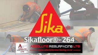 Applying Sikafloor®-264 (2:24)