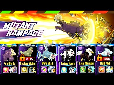 Mutant Rampage: Unique monster-creatures from Mutant Fighting Cup now released to the streets