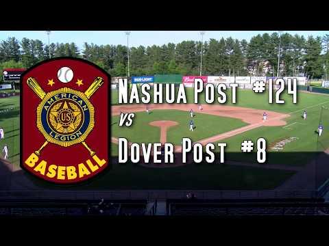 American Legion Baseball - Dover At Nashua  6/17/19