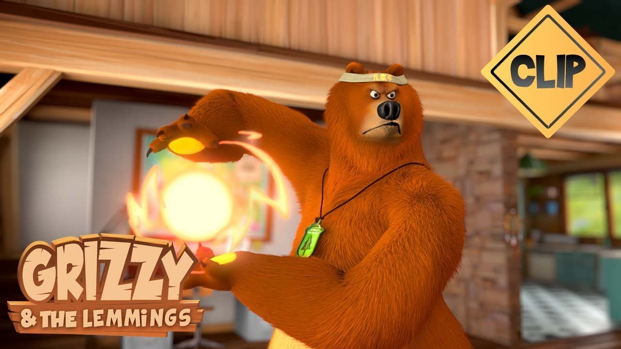 Download Combat de Kung Fu: Grizzy vs Lemmings - Grizzy & les Lemmings