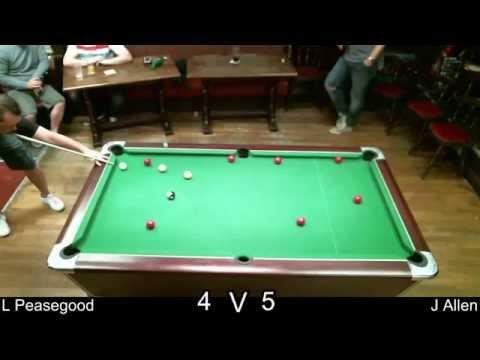 Lee Peasegood vs. Jason Allen