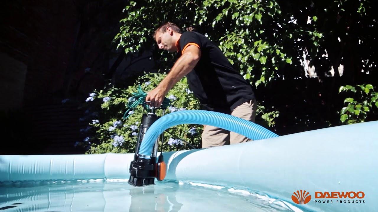 Daewoo submersible pump DAEQDP750F