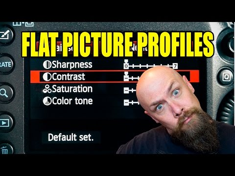 DSLR FLAT PICTURE PROFILES FOR CINEMATIC COLOR CORRECTING