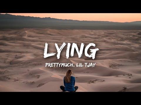 PRETTYMUCH - Lying ft. Lil Tjay (Lyrics)