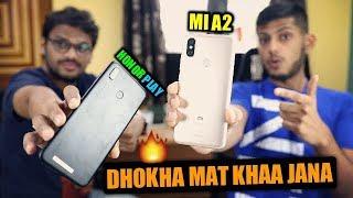 Honor Play vs Xiaomi Mi A2 धोखा मत खा जाना Ft. Tech Burner
