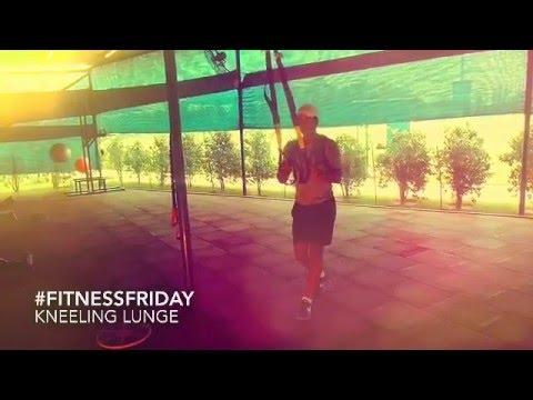#FitnessFriday: Kneeling Lunge
