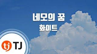 [TJ노래방] 네모의꿈 - 화이트 ( - White) / TJ Karaoke