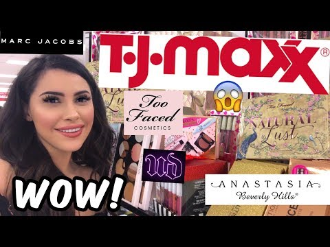 CHEAP HIGH END MAKEUP AT TJ MAXX || SHOP WITH ME 2019 (Holiday)