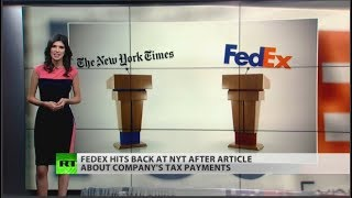 FedEX hits back at NYTimes over article on taxes