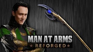 Chitauri Scepter AKA Loki's Staff (The Avengers: Age of Ultron) - MAN AT ARMS: REFORGED thumbnail