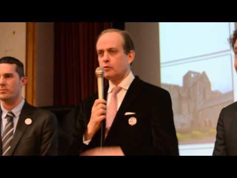 Le prince Jean de France évoque l'anniversaire de l'abbaye