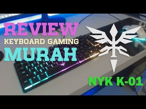 Keyboard Gaming Murah NYK K-01 Tenkeyless Review