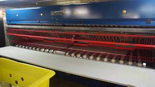 Linen Automatic Folding Machine on Cruise Ship Back View