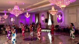 Hawaiian Bamboo Dance at Rockleigh Country Club on June 30, 2013