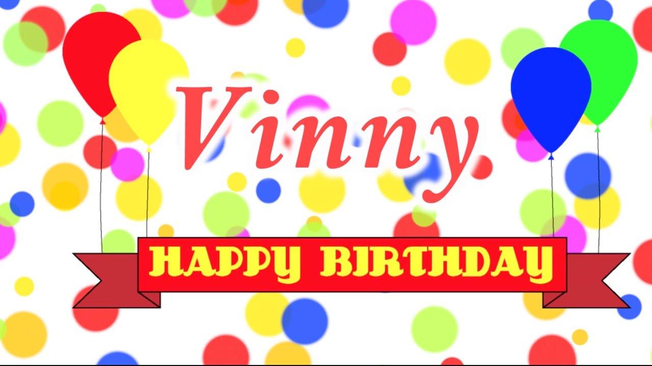 Happy Birthday Vinnie Cake