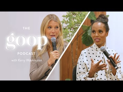 Gwyneth Paltrow Interviews Kerry Washington On Staying Mentally and Emotionally Fit