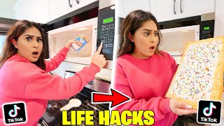 We TESTED Viral TikTok Life Hacks! **THEY ALL WORKED** PART 16