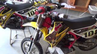 Twin 2011 Cobra CX 50 Dirt Bikes - Time To Race
