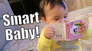 Smart Baby! - March 02, 2015 -  ItsJudysLife Vlogs