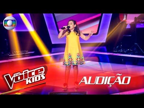 Letícia Santos canta 'O Leãozinho' na Audição – The Voice Kids Brasil | 2ª Temporada