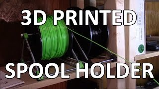 3D Printed Spool Holder - Tinman Electronics 22