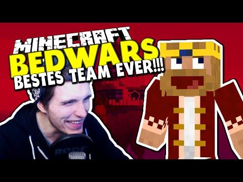 DAS BESTE TEAM DER WELT *VORSICHT IRONIE* ✪ Minecraft Bedwars Tag 48 mit MrMoreGame