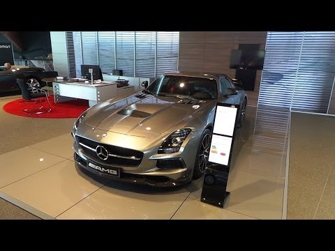 Mercedes-Benz SLS AMG Black Series 2015 Start Up In Depth Review Interior Exterior