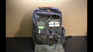 Business Laptop Rucksack by Estarer - organizational pockets for days
