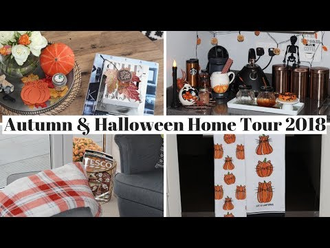 AUTUMN & HALLOWEEN HOME DECOR TOUR 2018 UK | #laurappbeauty