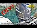 Repair Trim Yamaha Outboard 100HP (DIY) [4K]