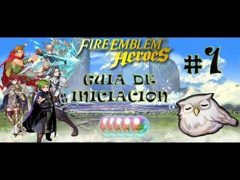 Fire Emblem Heroes - Guia Inicio 1 (analisis de unidades iniciales)