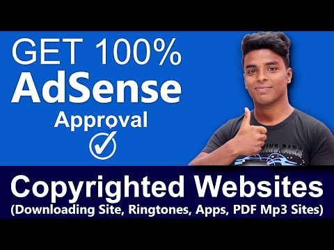 Get 100% AdSense Approval in Copyrighted Websites   APK, Music, Lyric, Songs Downloading Sites