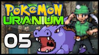 Pokémon Uranium - Episode 5 | Burole Gym Leader Darven!