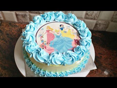 ഫോട്ടോ കേക്ക് എളുപ്പം തയ്യാറാക്കാം / photo cake recipe in malayalam / simple photo print cake recipe