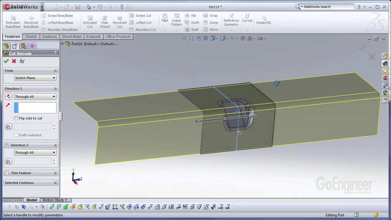 SOLIDWORKS - Gusset Forming Tool - YouTube